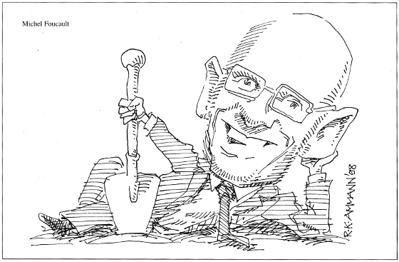 Caricature: Foucault